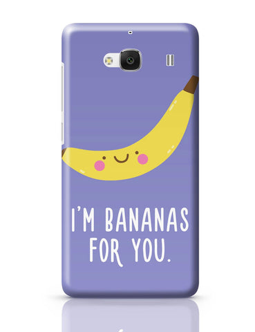 Xiaomi Redmi 2 / Redmi 2 Prime Cover| I Am Bananas For You Redmi 2 / Redmi 2 Prime Cover Online India