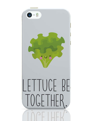 iPhone 5 / 5S Cases & Covers | Lettuce (Let Us) Be Together iPhone 5 / 5S Case Online India