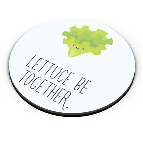 PosterGuy | Lettuce (Let Us) Be Together Fridge Magnet Online India by Mayank Dhawan
