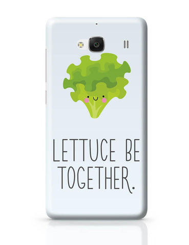 Xiaomi Redmi 2 / Redmi 2 Prime Cover| Lettuce (Let Us) Be Together Redmi 2 / Redmi 2 Prime Cover Online India
