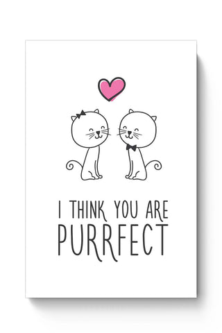 Posters Online | You Are Purrfect Poster Online India | Designed by: Mayank Dhawan