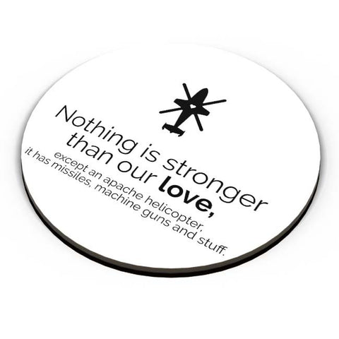 PosterGuy | Nothing Is Stronger Than Our Love Fridge Magnet Online India by Mayank Dhawan