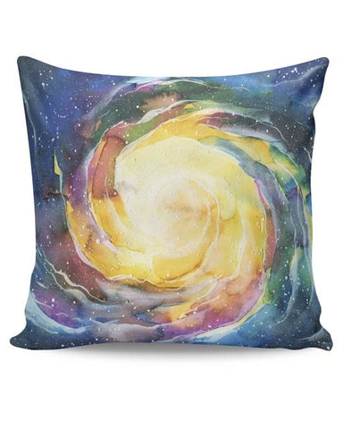 PosterGuy | Space Spiral Cushion Cover Online India