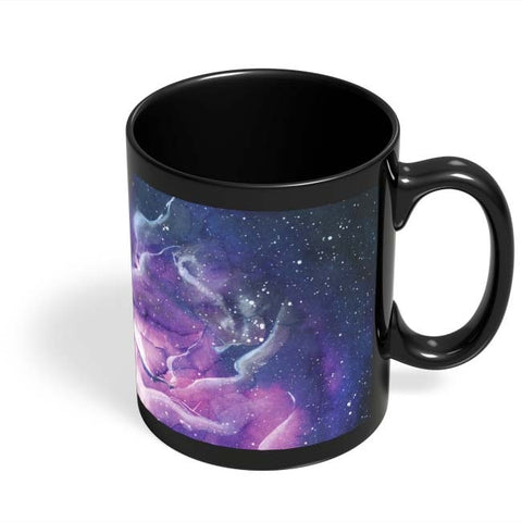 Coffee Mugs Online | Space Unicorn Black Coffee Mug Online India