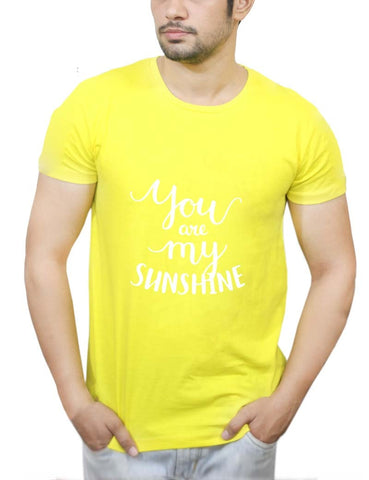 Buy You Are My Sunshine T-Shirts Online India | You Are My Sunshine T-Shirt | PosterGuy.in