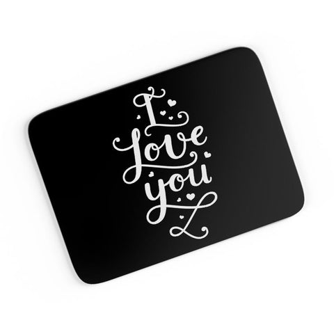 I Love You Calligraphy A4 Mousepad Online India