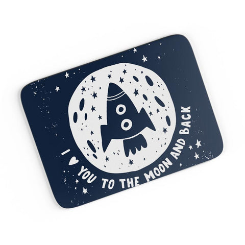 Love You To The Moon & Back A4 Mousepad Online India
