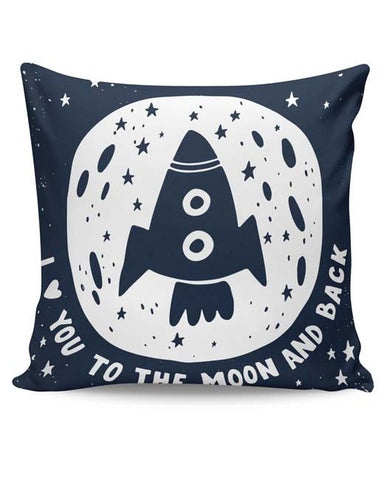 PosterGuy | Love You To The Moon & Back Cushion Cover Online India