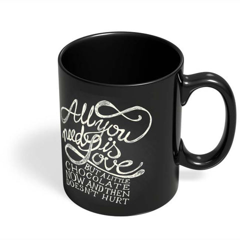 Coffee Mugs Online | All You Need Is Love But.. Black Coffee Mug Online India