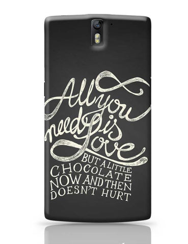 OnePlus One Covers | All You Need Is Love But.. OnePlus One Case Cover Online India