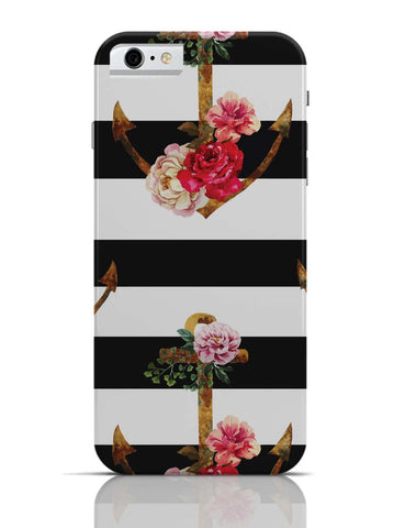 iPhone 6/6S Covers & Cases | Anchor Floral Stripes iPhone 6 Case Online India