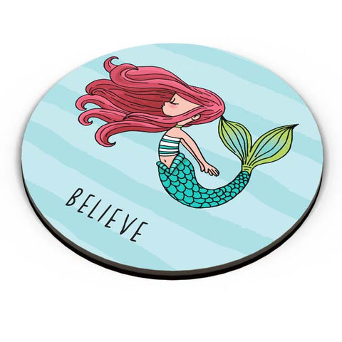 PosterGuy | Believe In Mermaids Fridge Magnet Online India by Mayank Dhawan