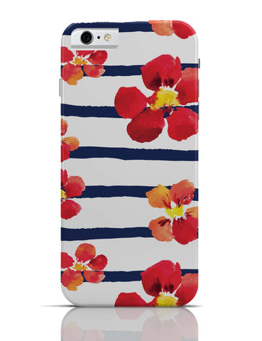 iPhone 6/6S Covers & Cases | Spring Floral Stripes iPhone 6 Case Online India