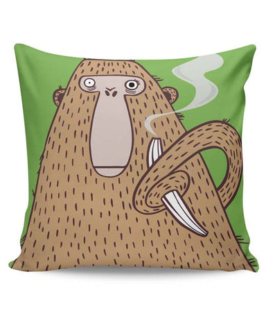 PosterGuy | High Monkey Cushion Cover Online India