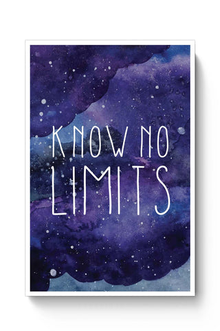 Posters Online | Know No Limits Poster Online India | Designed by: Mayank Dhawan