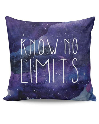 PosterGuy | Know No Limits Cushion Cover Online India