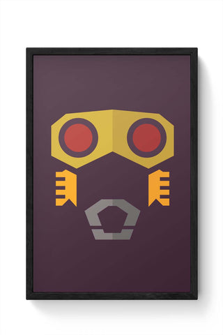 Framed Posters Online India | Star Lord Guardians Of The Galaxy Framed Poster Online India