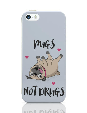 Pugs Not Drugs iPhone Covers Cases Online India