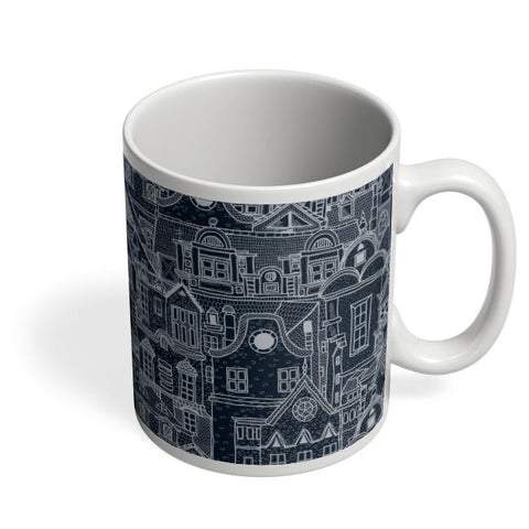 Midnight Rooftops Coffee Mug Online India