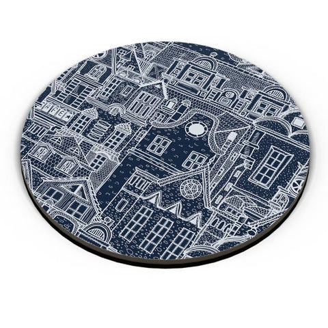 Midnight Rooftops Fridge Magnet Online India
