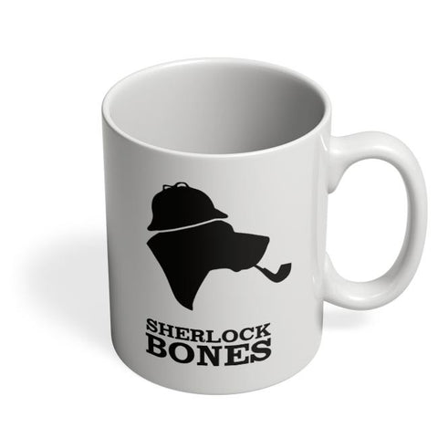 Sherlock Bones Coffee Mug Online India