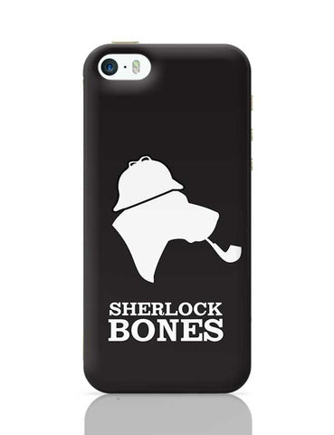 Sherlock Bones iPhone 5/5S Covers Cases Online India