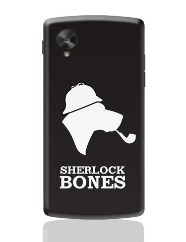 Sherlock Bones Google Nexus 5 Covers Cases Online India