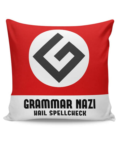 Grammar Nazi Cushion Cover Online India