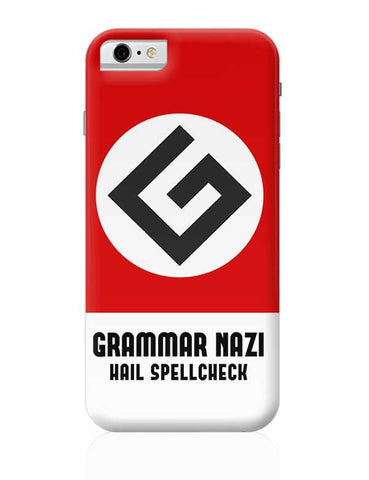 Grammar Nazi iPhone 6 6S Covers Cases Online India