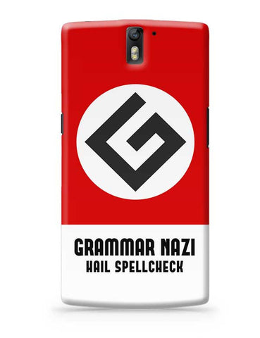 Grammar Nazi OnePlus One Covers Cases Online India