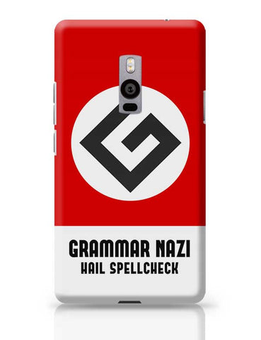Grammar Nazi OnePlus Two Covers Cases Online India