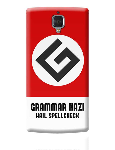 Grammar Nazi OnePlus 3 Covers Cases Online India