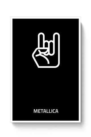 Posters Online | Metallica Poster Online India | Designed by: MonkeyMan