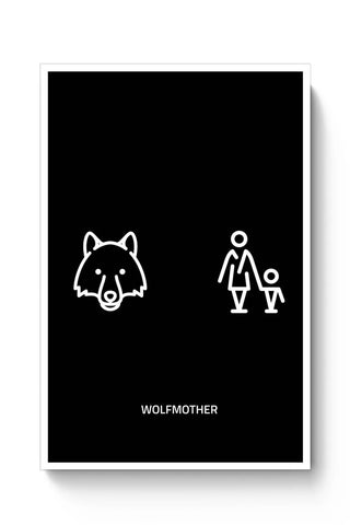 Posters Online | Wolfmother Poster Online India | Designed by: MonkeyMan