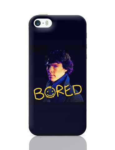Sherlock Bored Illustration | England iPhone 5/5S Covers Cases Online India