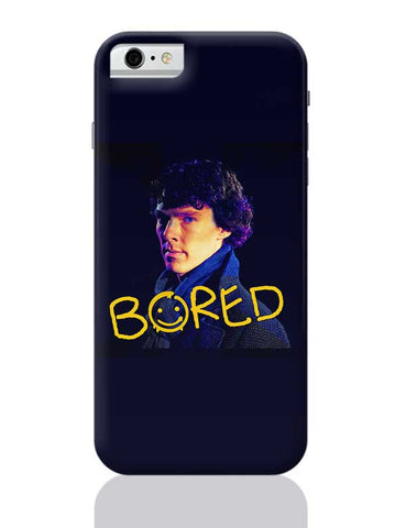 Sherlock Bored Illustration | England iPhone 6 / 6S Covers Cases