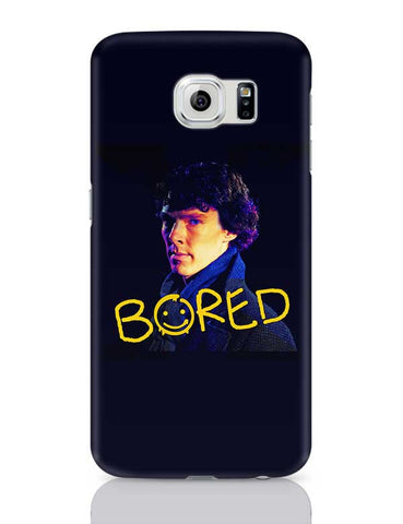 Sherlock Bored Illustration | England Samsung Galaxy S6 Covers Cases Online India