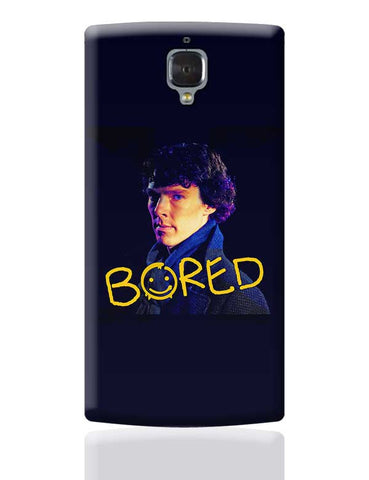 Sherlock Bored Illustration | England OnePlus 3 Covers Cases Online India