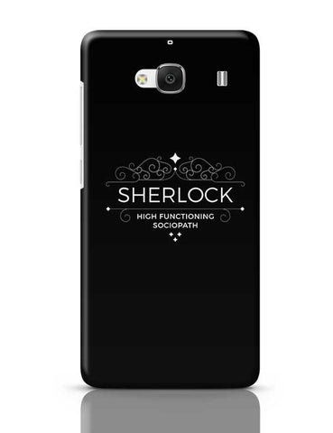 High Functioning Sociopath | Sherlock Redmi 2 / Redmi 2 Prime Covers Cases Online India