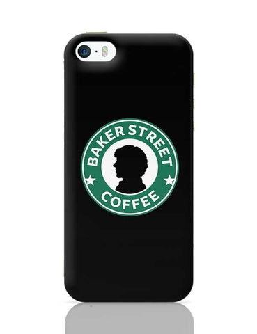 Sherlock at Starbucks | Illustration iPhone 5/5S Covers Cases Online India