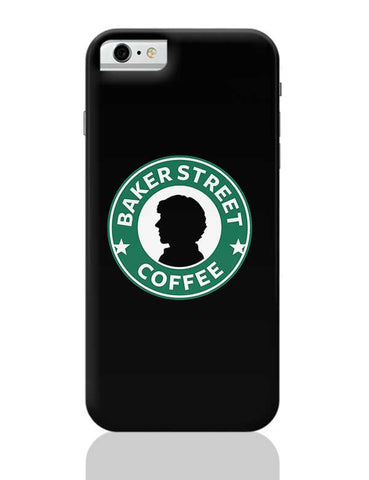 Sherlock at Starbucks | Illustration iPhone 6 / 6S Covers Cases