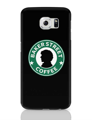 Sherlock at Starbucks | Illustration Samsung Galaxy S6 Covers Cases Online India