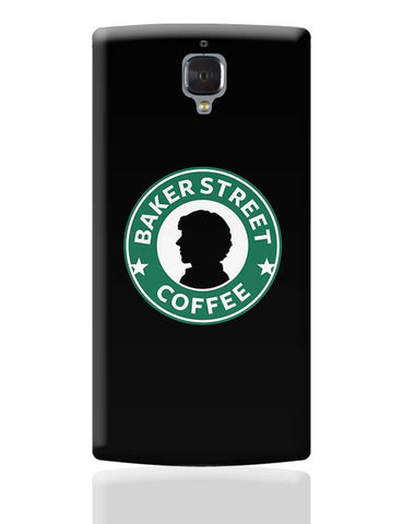 Sherlock at Starbucks | Illustration OnePlus 3 Covers Cases Online India