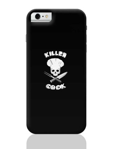 Killer Chef | Skull Iluustration For Chef iPhone 6 / 6S Covers Cases