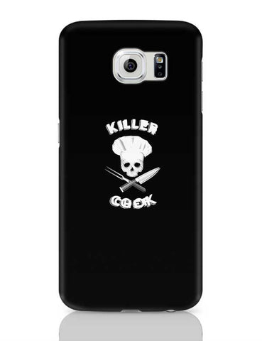 Killer Chef | Skull Iluustration For Chef Samsung Galaxy S6 Covers Cases Online India