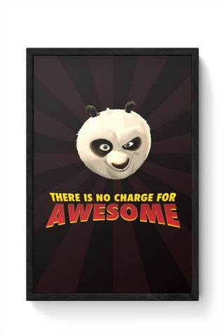 Framed Posters Online India | No Charge For Awesome - Po Framed Poster Online India