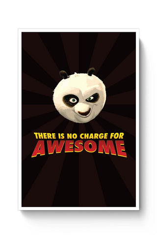 Posters Online | No Charge For Awesome - Po Poster Online India | Designed by: MonkeyMan