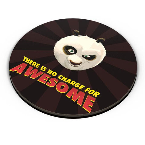 PosterGuy | No Charge For Awesome - Po Fridge Magnet Online India by MonkeyMan