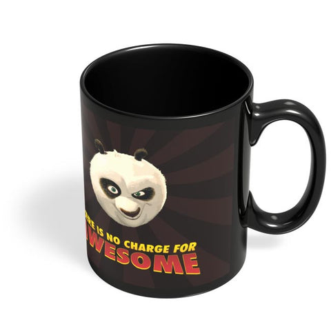 Coffee Mugs Online | No Charge For Awesome - Po Black Coffee Mug Online India