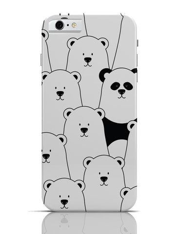 iPhone 6/6S Covers & Cases | Be Different - Panda iPhone 6 / 6S Case Cover Online India